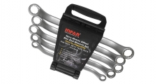 PR-TYPE 45° OFFSET DOUBLE BOX WRENCH SET IN PP RACK